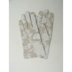 Art. R116 Rękawiczki skórzane damskie, letnie.