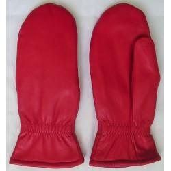 """Art. 14409015 Rękawiczki skórzane """"łapki"""" zimowe, damskie"""