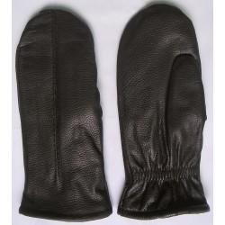 """Art. 14302215 Rękawiczki skórzane """"łapki"""" zimowe, damskie"""
