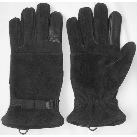 Art. GLS-014 - special gloves to exit on a thick rope, CERTIFICATE, CE.