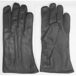 Art. R162/m Rękawiczki skórzane męskie, ręcznie szyte