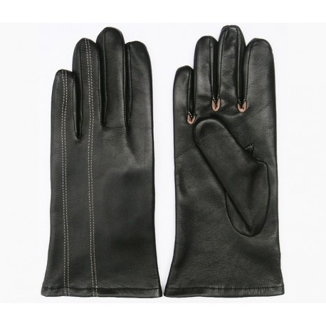 Art. R019 leather gloves for women output
