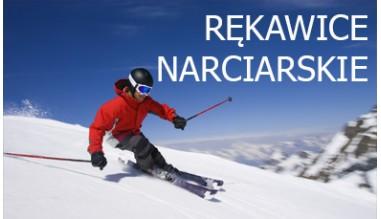 rękawice skórzane dla narciarzy