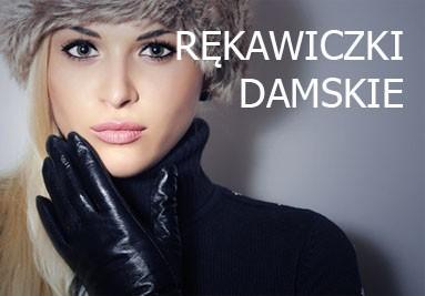 rękawiczki skórzane dla kobiet