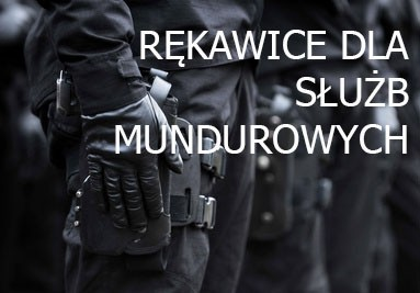 rękawice dla służb mundurowych